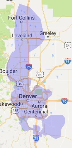 Denver Wireless Internet Coverage Map